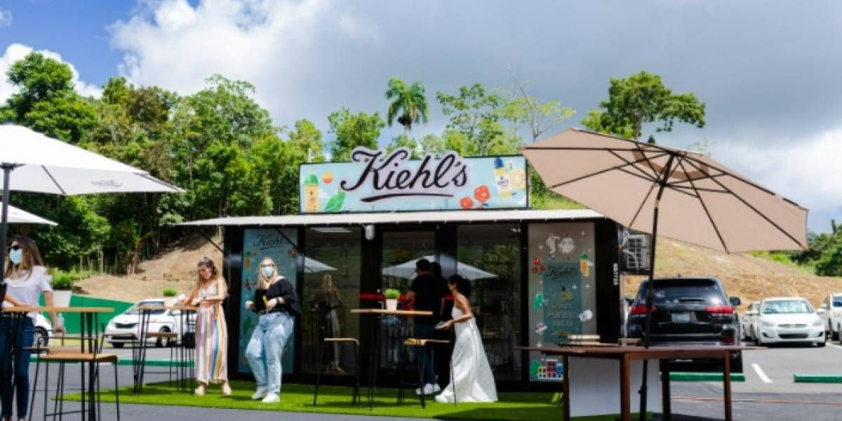 Sobre ruedas productos Kiehl's para el cuidado de la piel