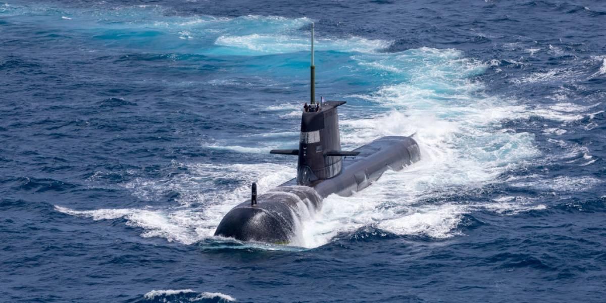 Choca un submarino nuclear de EEUU mientras estaba sumergido en el Pacífico