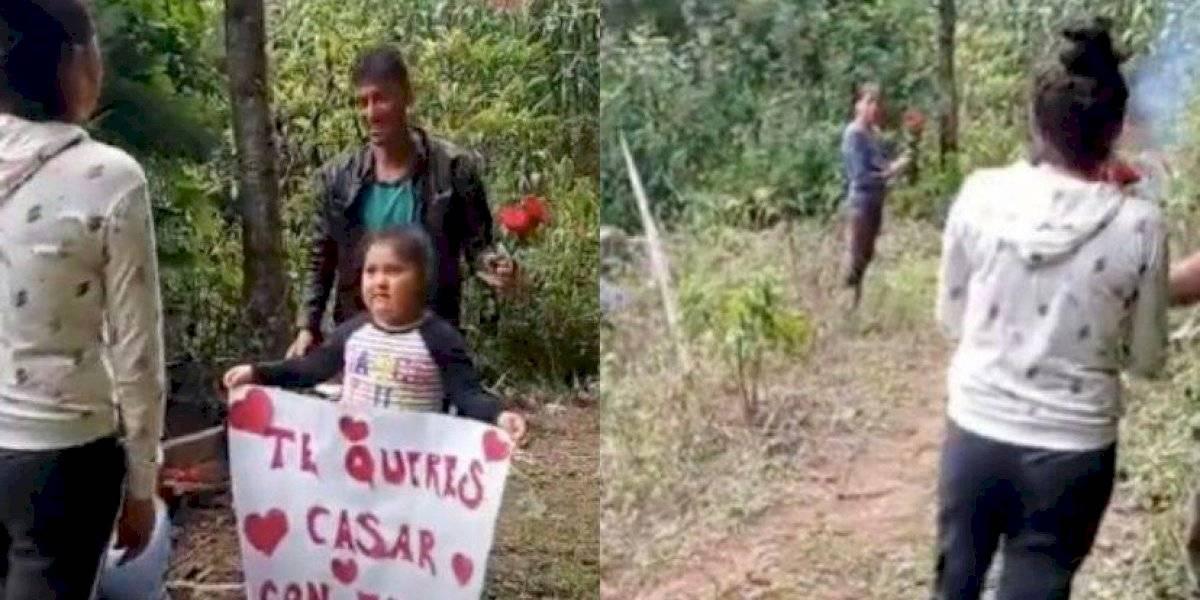 Joven campesino conmueve al mundo con humilde propuesta de matrimonio