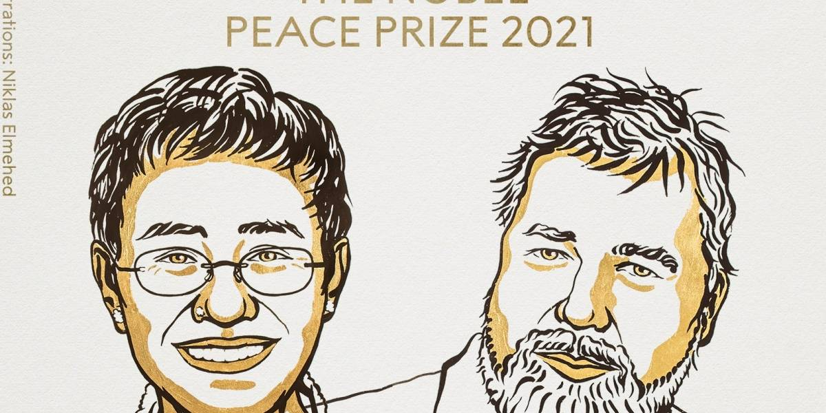 """Nobel de Paz otorgado al  periodismo para """"salvaguardar la libertad de expresión"""""""
