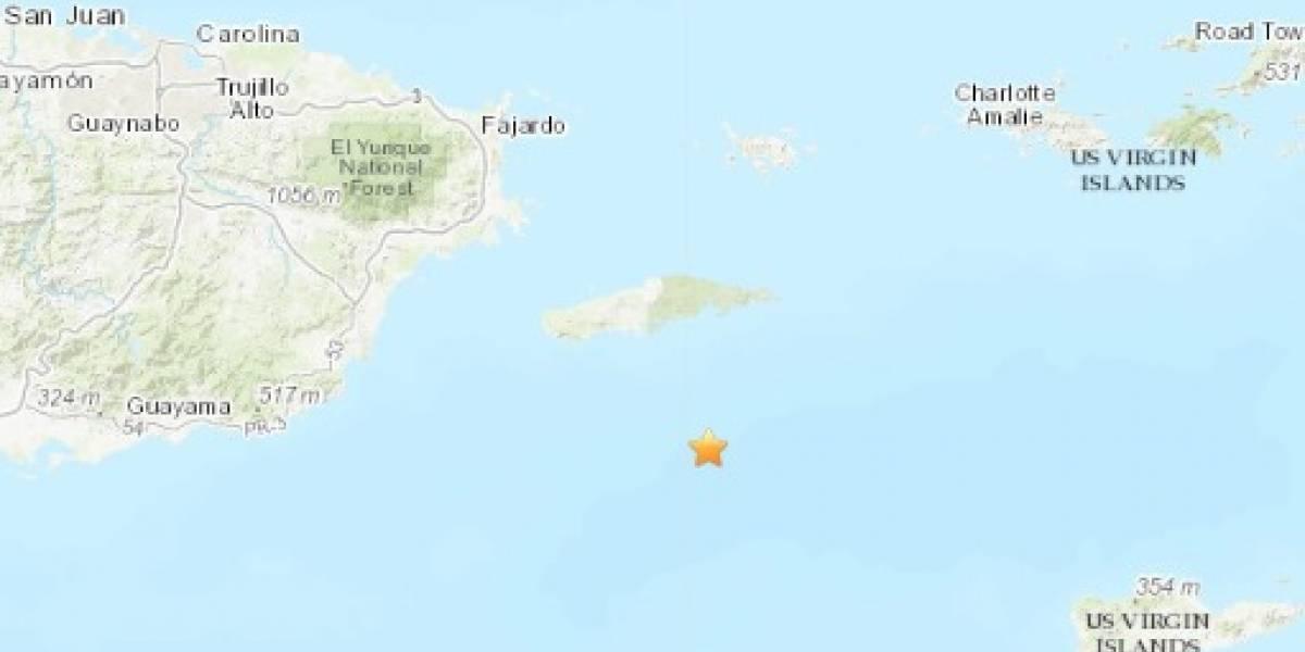 Reportan temblor de magnitud 4.9 al sureste de Puerto Rico
