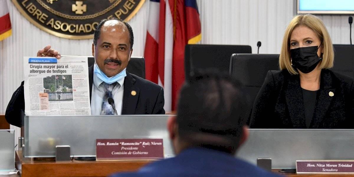 Senado investiga condiciones del Albergue de Protección a Víctimas y Testigos