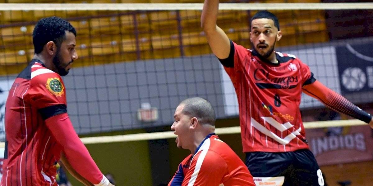 Changos logran quinta victoria al hilo en el Voleibol Superior Masculino