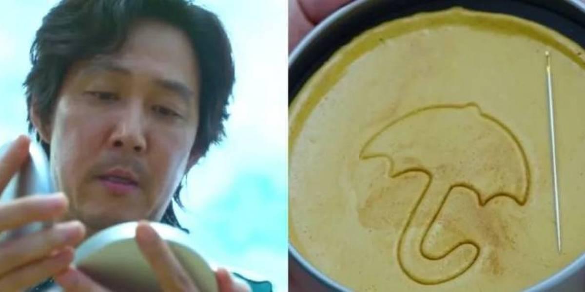 """Mira cómo hacer la galleta de """"El Juego del Calamar"""" en TikTok"""