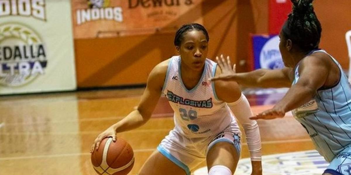 Moca doblega a las Llaneras en el Baloncesto Superior Femenino