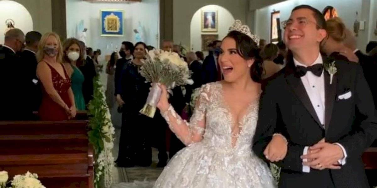 Se casa periodista de Telemundo