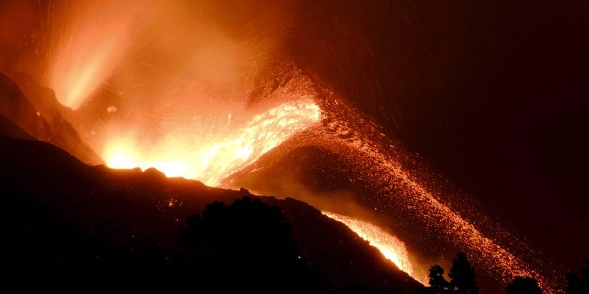 Lava del volcán de La Palma obliga a evacuar a 800 personas