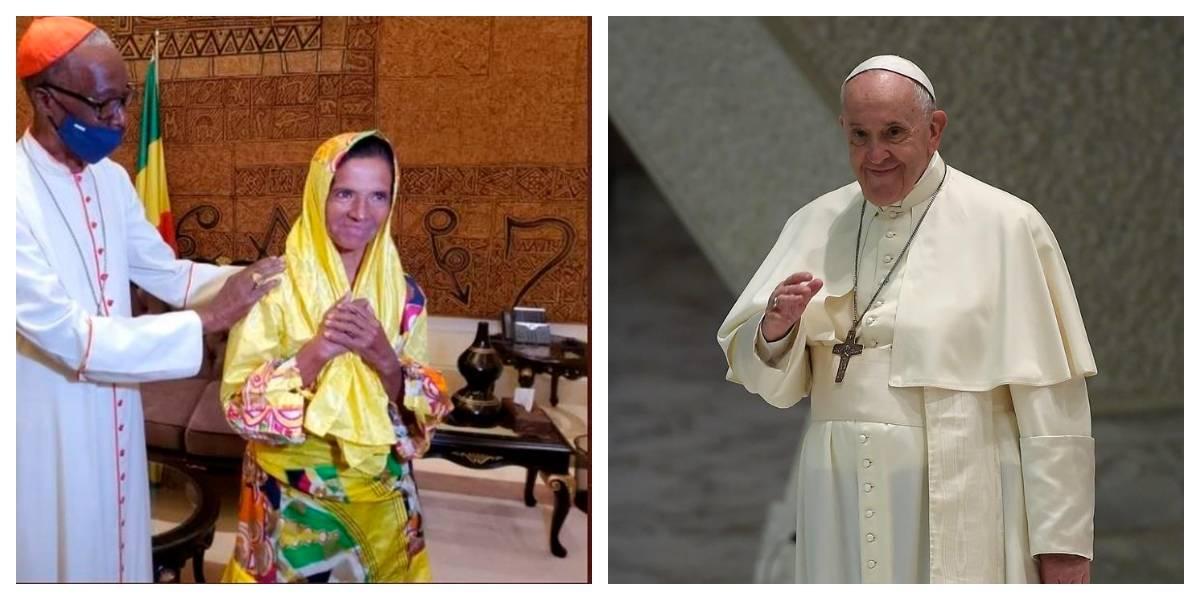Así fue el encuentro en el Vaticano entre el papa Francisco y la monja colombiana liberada tras su secuestro