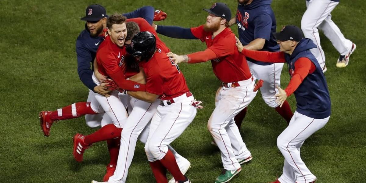 Red Sox de Boston clasifican a la Serie de Campeonato de la Liga Americana