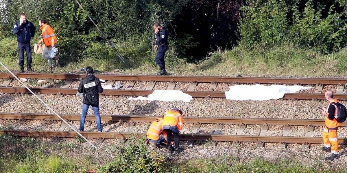 Tres personas fallecen tras ser atropelladas por un tren en Francia