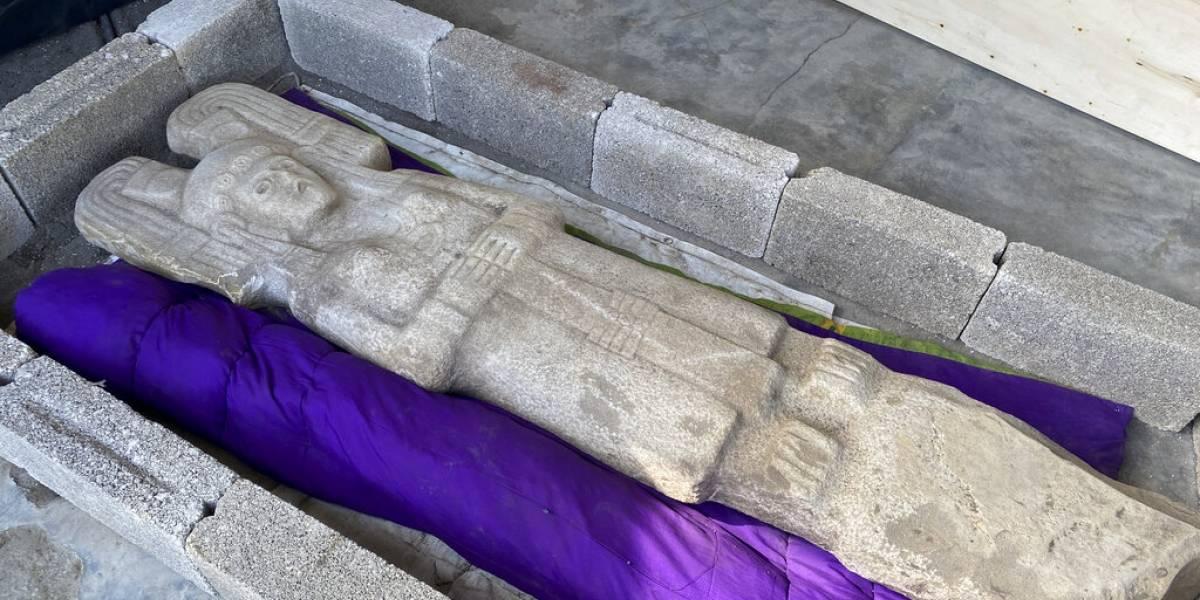 Estatua de mujer prehispánica remplazará la de Cristobal Colón en México