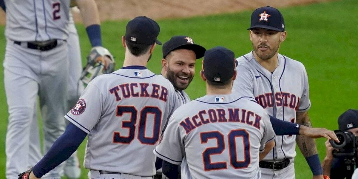 Correa y Altuve llevan a los Astros a Serie de Campeonato de la Liga Americana