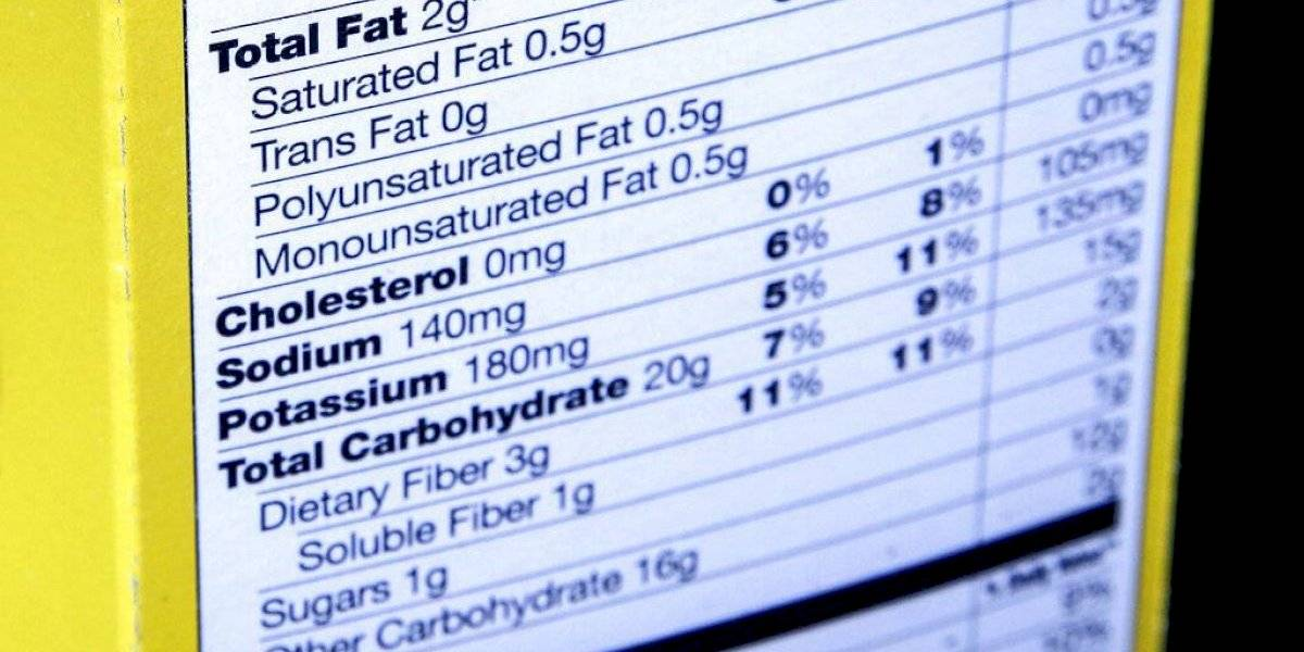 FDA fija metas de reducción de sodio para alimentos