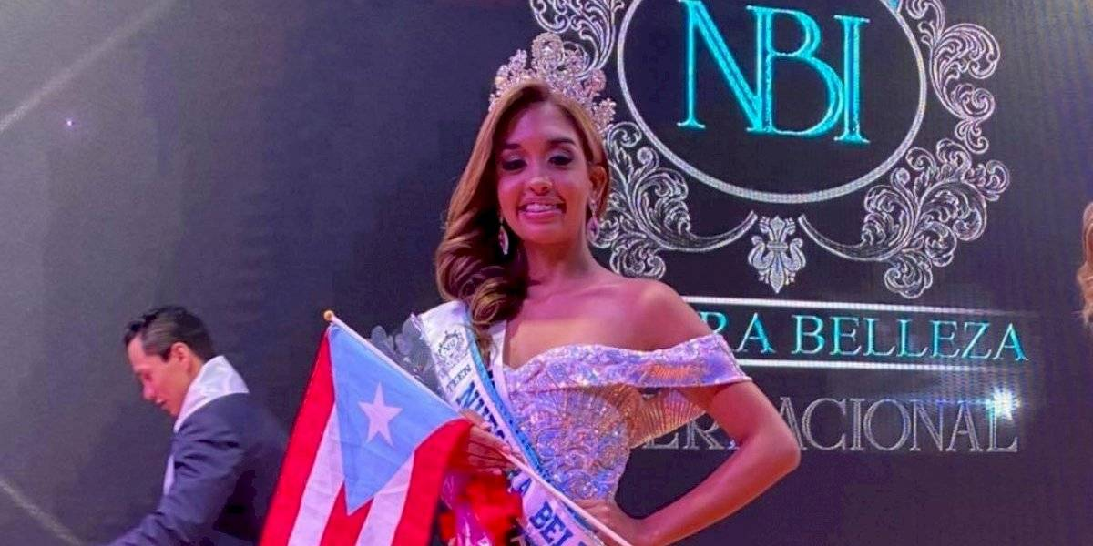 Puertorriqueña gana concurso de Nuestra Belleza Internacional