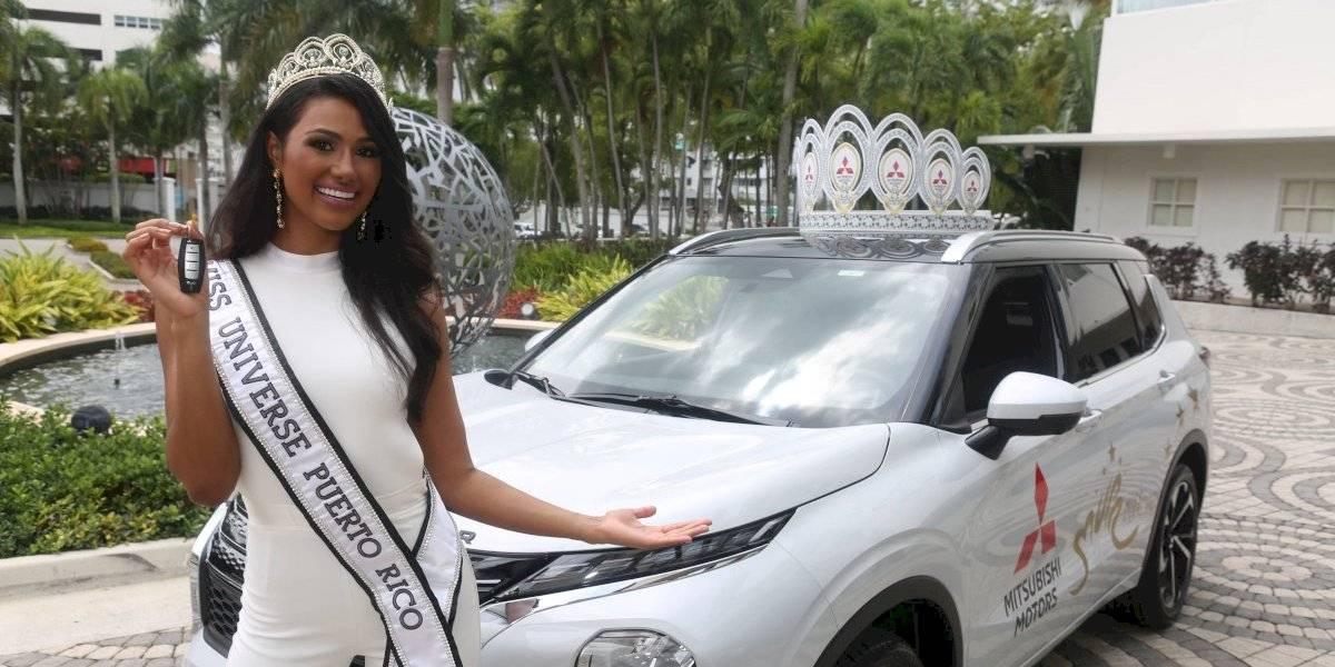 Michelle Colón recibe premios de Miss Universe Puerto Rico