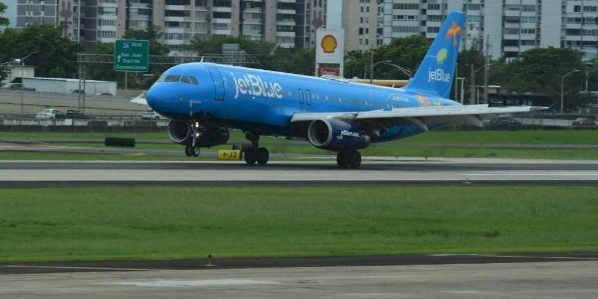 Llega el Bluericua, avión especial por los 500 años de San Juan