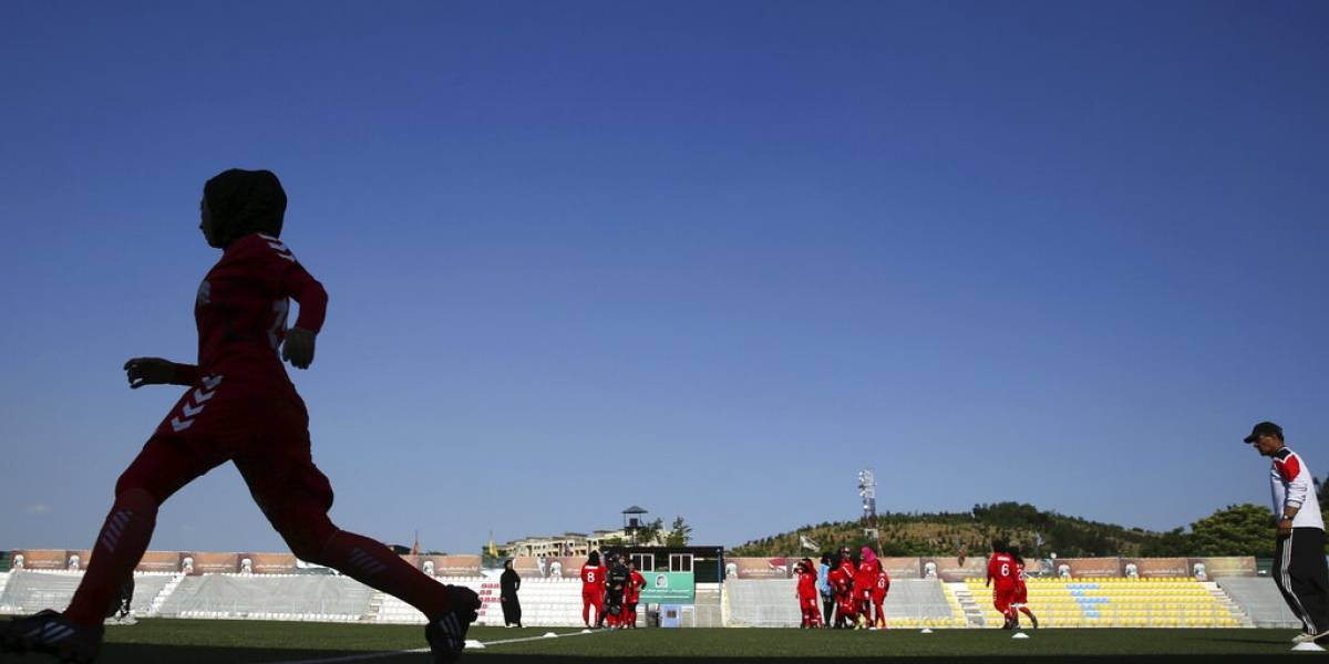 Futbolistas afganas fueron trasladadas a Qatar