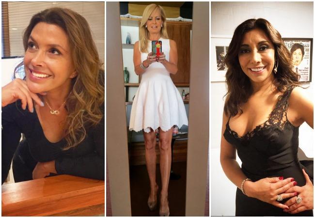 Carolina Arregui, Cecilia Bolocco, Katty Kowaleczko y