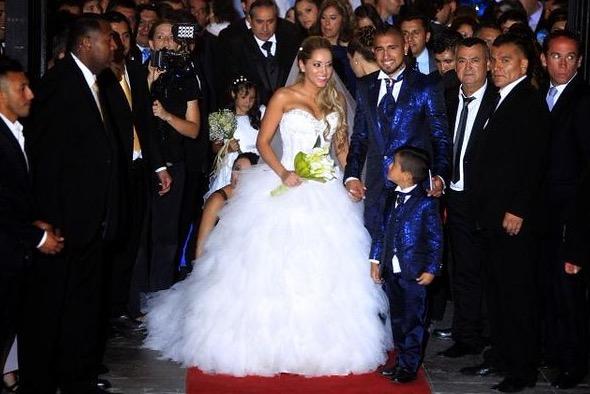 vestidos de novias de famosas chilenas – vestidos de noche