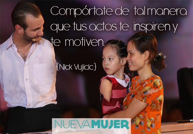 Well-known Frases motivacionales e inspiracionales de Nick Vujicic | Nueva Mujer CN57