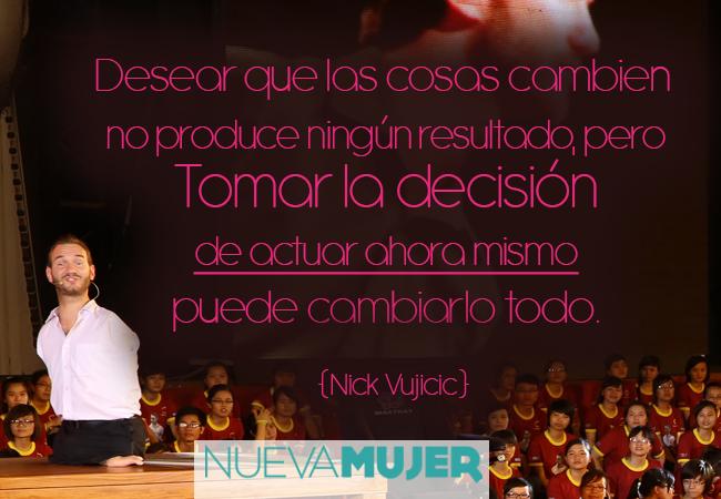 Favoritos Frases motivacionales e inspiracionales de Nick Vujicic | Nueva Mujer KO58