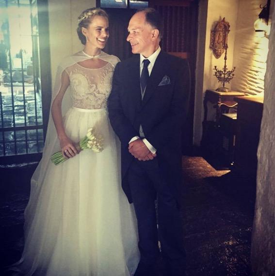 Vestidos de novia: Así se han casado Daniela Castillo y otras ...