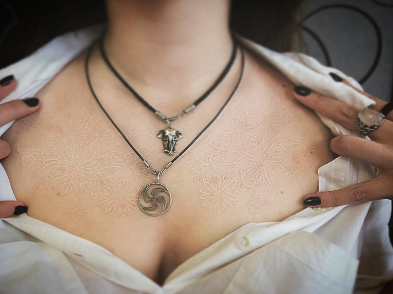 Tatuajes Blancos Fotos De Los Mejores Disenos Publicados En