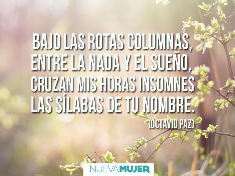 Frases Y Poemas De Amor De Octavio Paz Para Inspirar Nueva Mujer