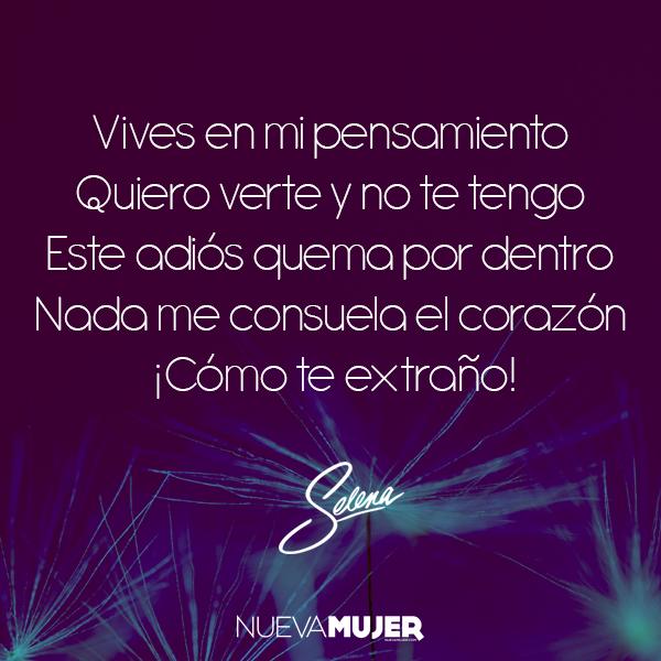 Frases De Amor Y Desamor De Las Canciones De Selena
