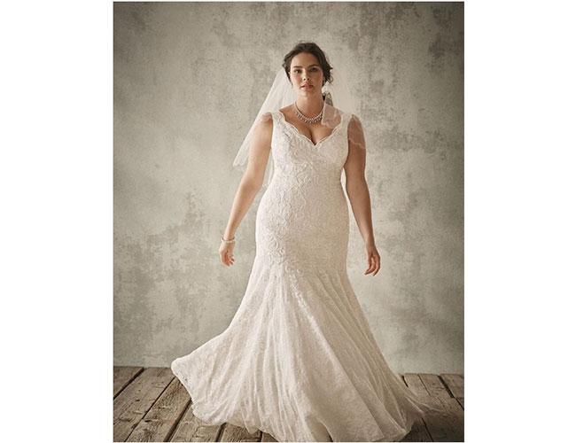 imágenes de vestidos de novia para mujeres talla grande | nueva mujer