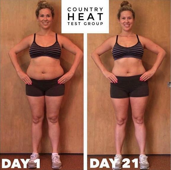 Antes y despues de bajar de peso con ejercicio