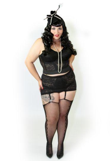 Modelos de talla grande se lucen en ropa interior nueva for Chicas guapas en ropa interior