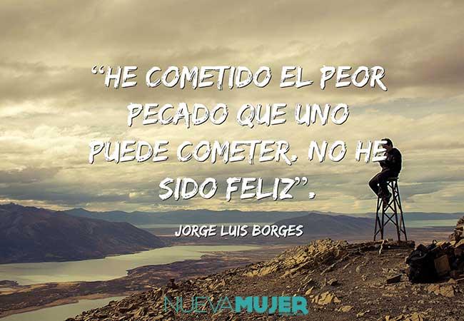 Imágenes De Frases De Jorge Luis Borges Nueva Mujer