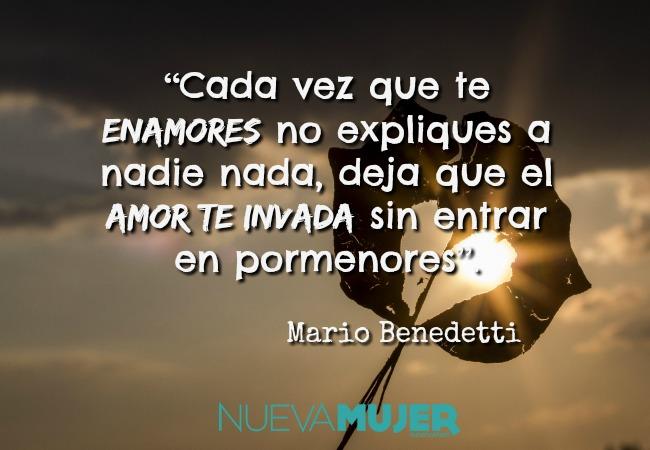Imagenes De Frases De Mario Benedetti El Escritor Uruguayo Nueva