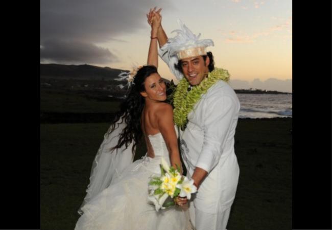 los vestidos de novia de las famosas chilenas | nueva mujer