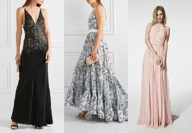 Vestidos para fiesta de matrimonio campestre de noche