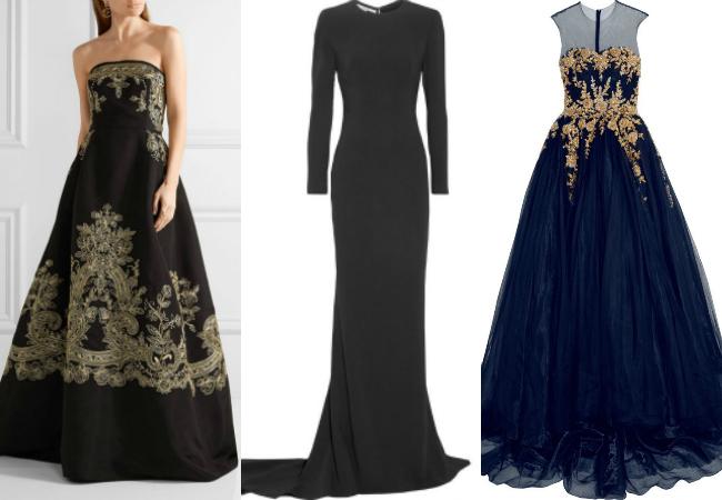Vestido formal para dama matrimonio